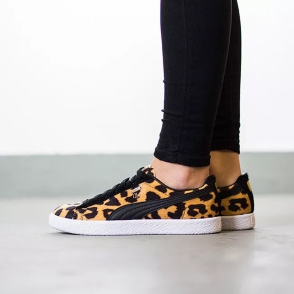 Puma Clyde Suits Animal Pack Leopard